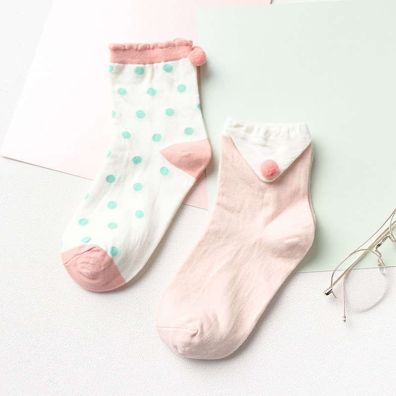 Носки «Шарики» розовые