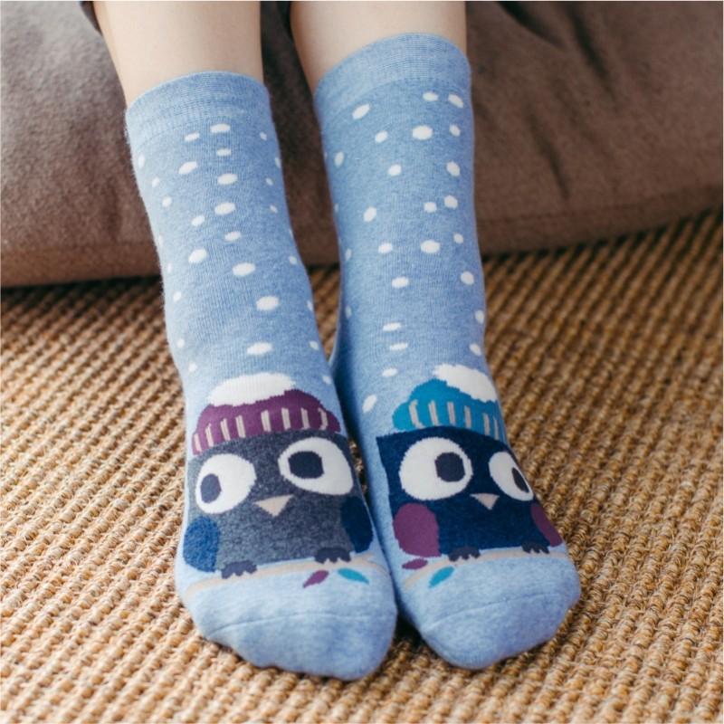 Носки теплые «Сова»