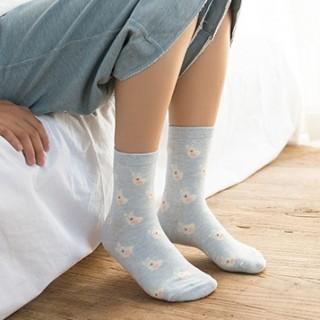 Набор носков «Сказка» голубые, 4 пары