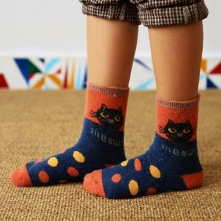 Теплые носки «Meow»