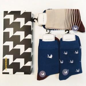 Набор мужских носков «Лебеди-2», 3 пары
