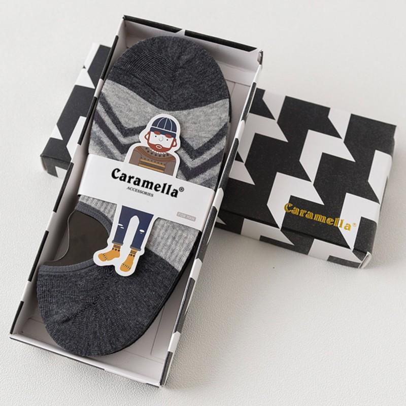 Набор мужских носков «Черно-белые-3», 4 пары