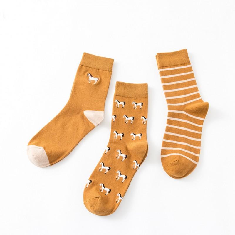 Набор мужских носков «Лошади», 3 пары