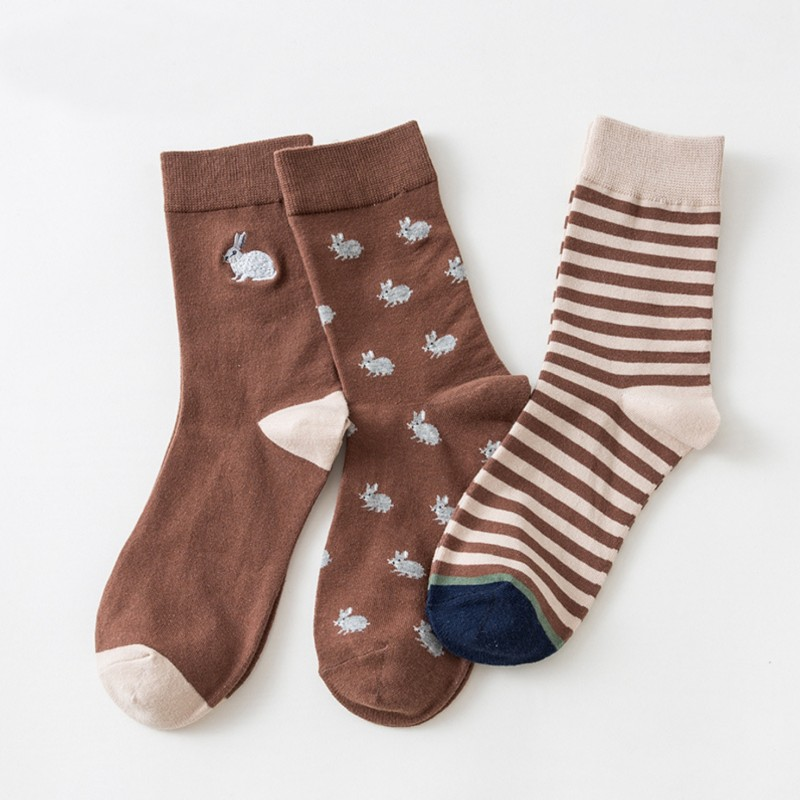 Набор мужских носков «Кролики» в мягкой упаковке, 3 пары