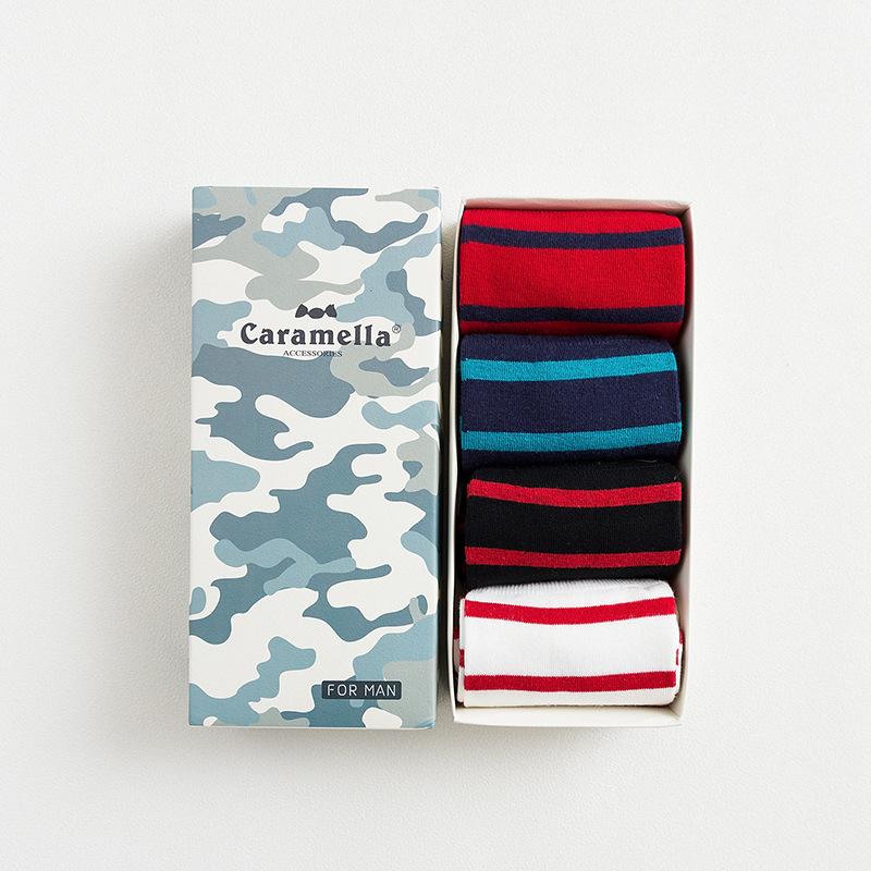 Набор мужских носков «Камуфляж-2», 4 пары