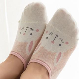 Набор носков «Животные» розовый, 4 пары