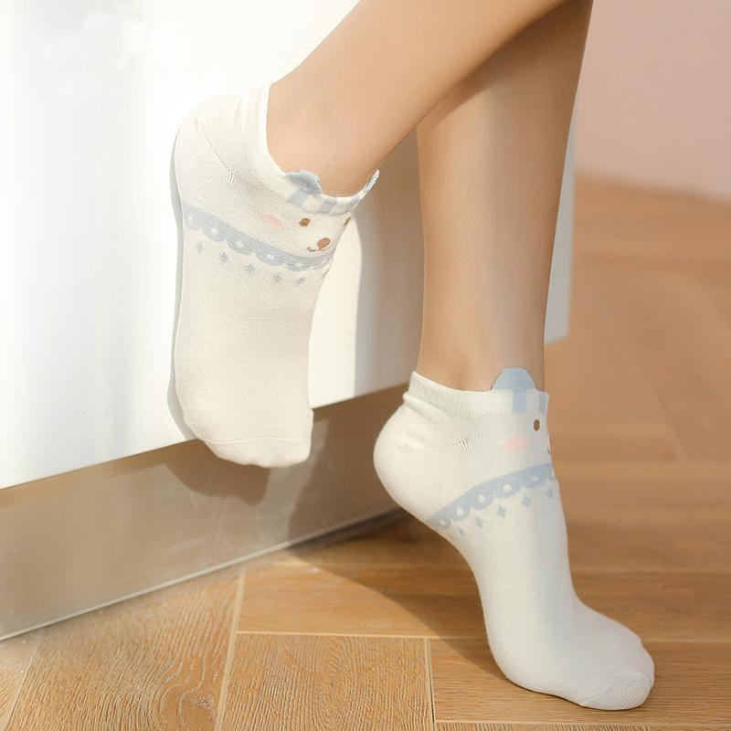 Набор детских носков «Мишки» голубой, 4 пары