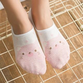 Набор носков «Котик и зайка», 2 пары