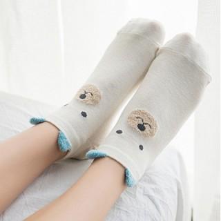 Набор носков «Собачка и мишка», 2 пары