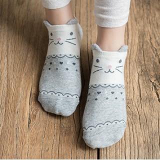 Набор носков «Зайка и мишка», 2 пары