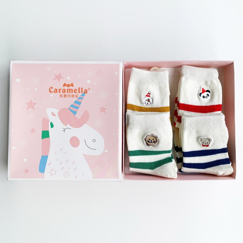 Набор детских носков «Волшебный единорог-1», 4 пары