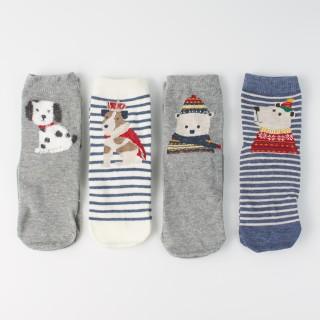 Набор детских носков «Зимний мишка», 4 пары