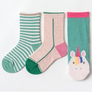 Набор детских носков «Единорог» в мягкой упаковке, 3 пары