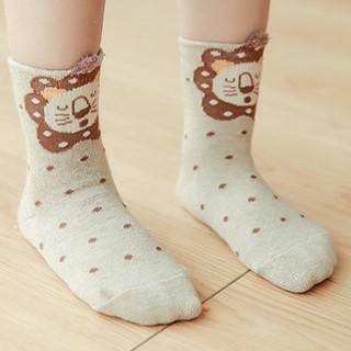 Набор детских носков «Собачка» серый, 4 пары