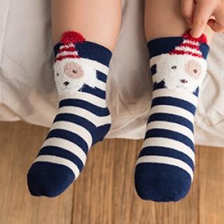 Набор детских носков «Собачка» голубой, 4 пары