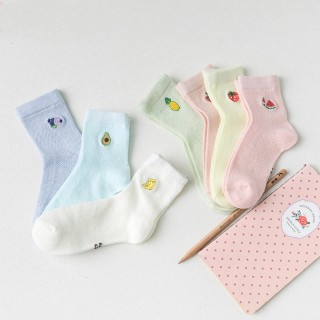 Набор детских носков «Фрукты-2», 7 пары