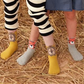 Набор детских носков «Джунгли», 4 пары
