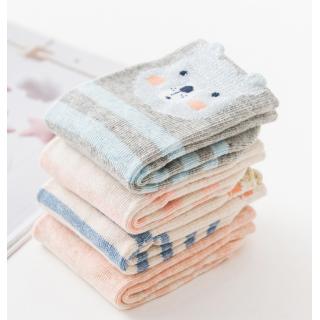 Набор детских носков «Лисенок», 4 пары