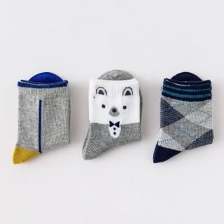 Набор детских носков «Медвежонок» в мягкой упаковке, 3 пары