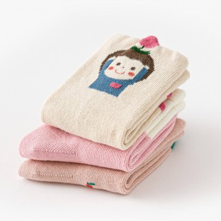 Набор детских носков «Яблочки» в мягкой упаковке, 3 пары