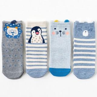 Набор детских носков «Котенок-5», 4 пары