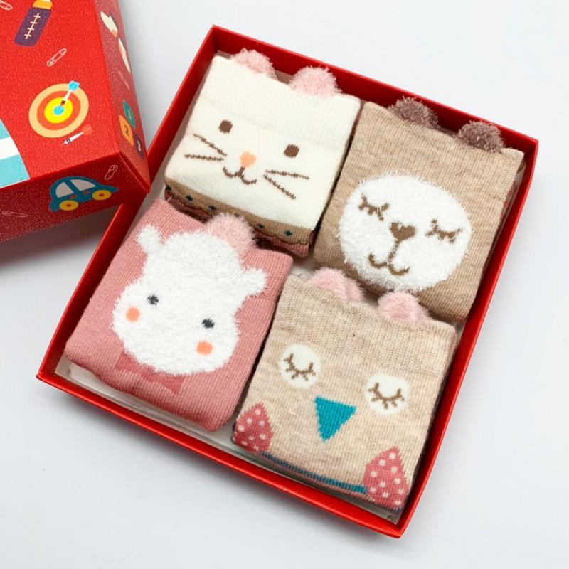 Набор детских носков «Собачка-3», 4 пары