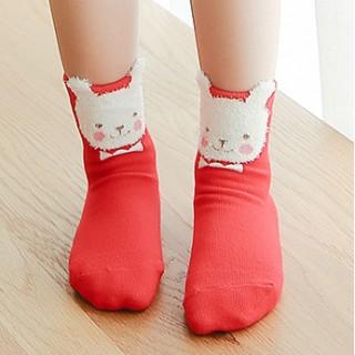 Набор детских носков новогодний «Мишка путешественник», 4 пары