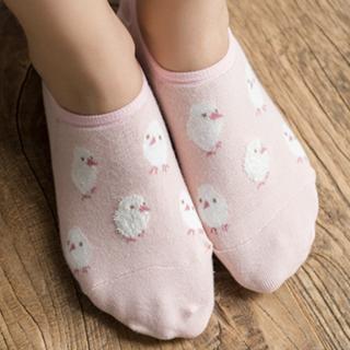 Набор носков «Цыпленок и собачка», 2 пары