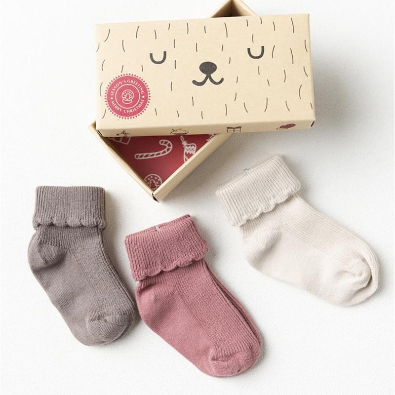 Набор детских носков «Рюшечки», 3 пары