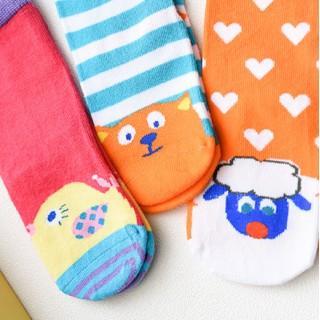 Набор детских носков «Весёлые друзья», 3 пары