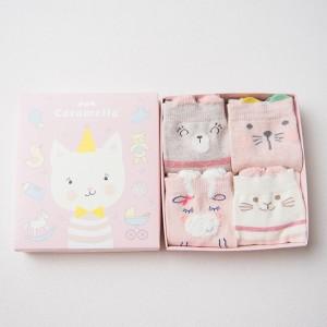Набор детских носков «Котенок», 4 пары