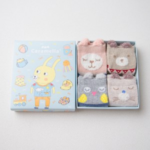 Набор детских носков «Кролик», 4 пары