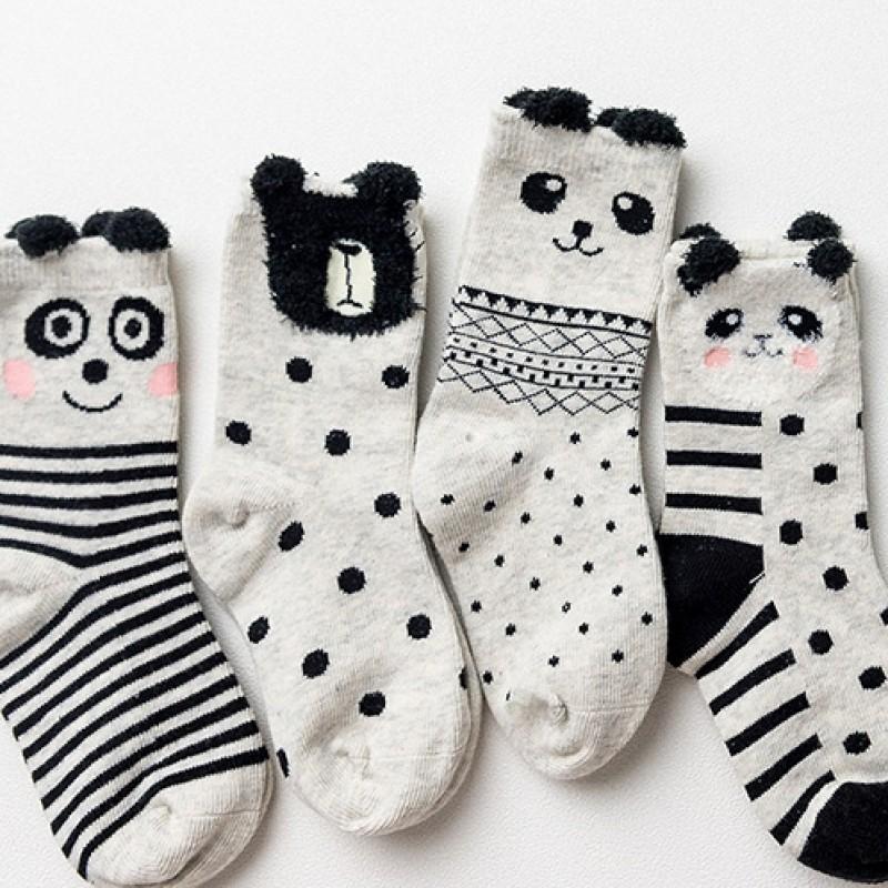 Набор носков «Панда-2», 4 пары