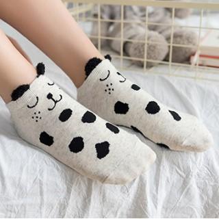 Набор носков «Панда и собачка», 2 пары