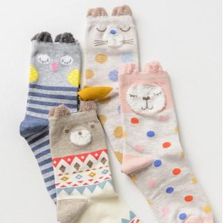 Набор носков «Кролик», 4 пары