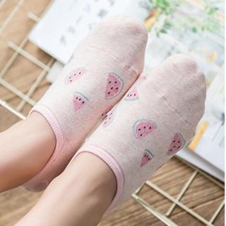 Набор носков «Арбуз и кактус», 2 пары