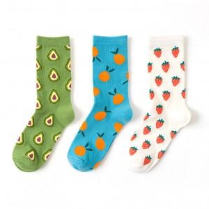 Набор носков «Fruits-5» в мягкой упаковке, 3 пары