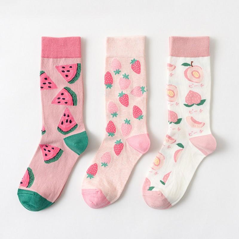 Набор носков «Fruits-8» в мягкой упаковке, 3 пары
