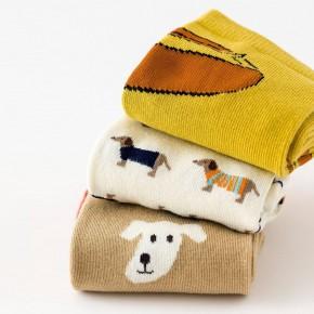 Набор носков «Таксы» в мягкой упаковке, 3 пары