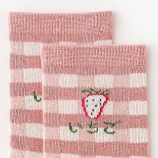 Набор носков «Клубника» в мягкой упаковке, 3 пары