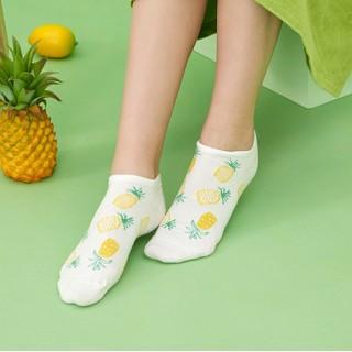 Набор носков «Ананасики» в мягкой упаковке, 3 пары