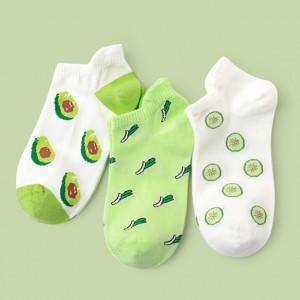 Набор носков «Зелёный смузи» в мягкой упаковке, 3 пары
