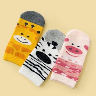 Набор носков «Зоопарк-2» в мягкой упаковке, 3 пары