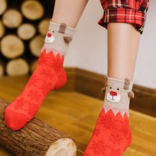 Носки новогодние «Звери»